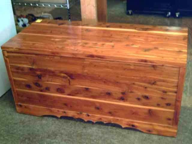 large cedar chest design