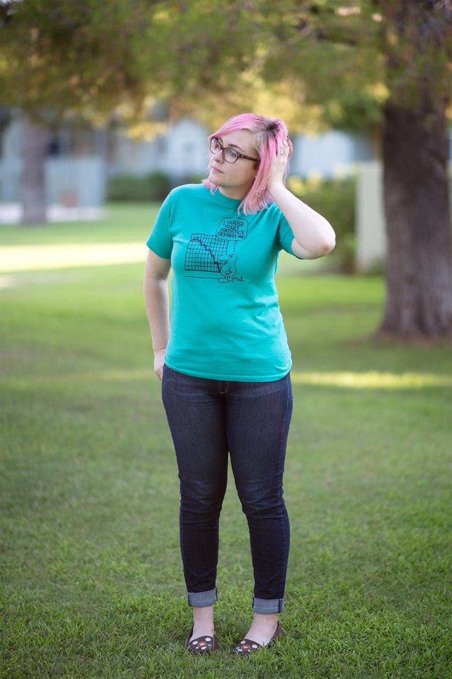 Summer Sun and Thrifted Shirts - littleladylittlecity.com