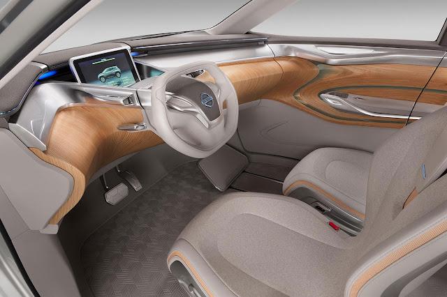 Nissan TeRRA SUV Concept 2012 interior
