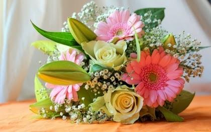 9 arreglos florales para tu boda Zankyou - Imagenes De Arreglos De Flores Para Boda