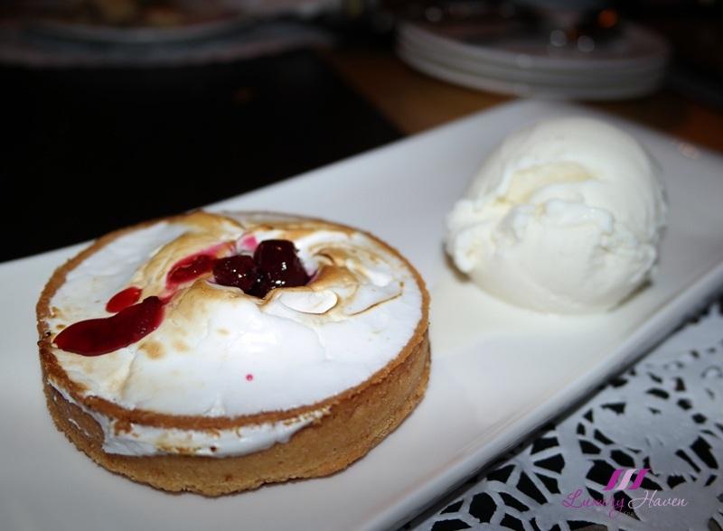 arteastiq whirling mist lemon meringue tarte ice cream