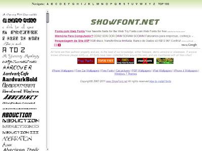 fontes gratis free fonts
