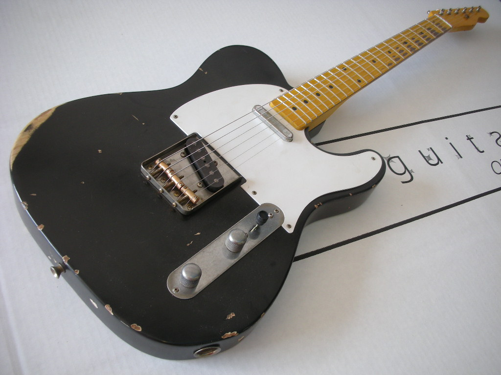 jw guitarworks telecaster project from nash guitars