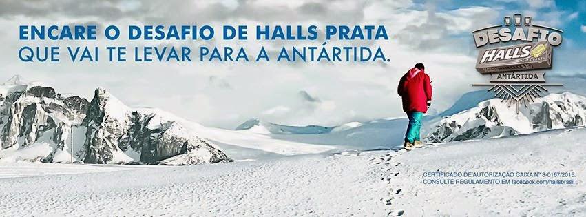 Participar promoção Halls 2015