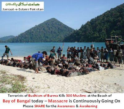 Terbukti 100% Hoax , Foto-Foto Terkait Pembantaian Muslim Rohingya Myanmar