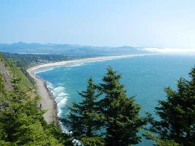 View from the Pacific Coast Highway, OR