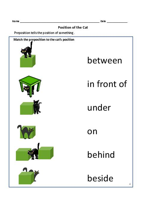 Preposition Exercises For Grade 11 - preposition activity ...