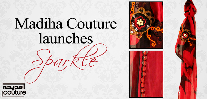 Madiha couture scarfs launch 2014