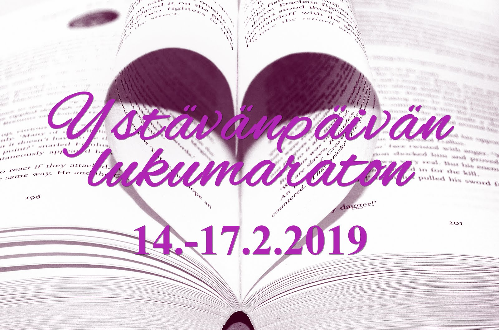 Ystävänpäivän lukumaraton (14.-17.2.)