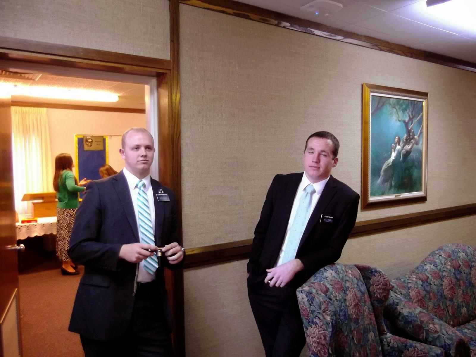 Elder Rasmussen & Elder Elmer