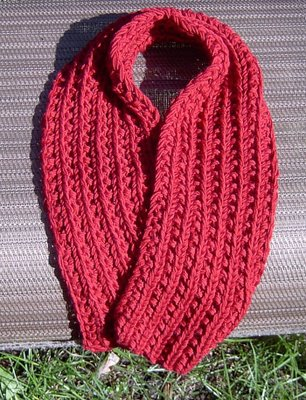 Free Patterns For Knitted Scarves : scarf knitting pattern-Knitting Gallery
