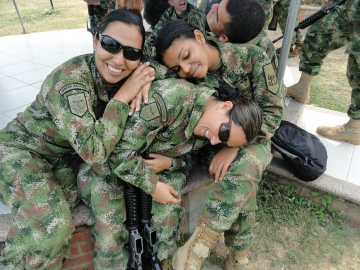 Colombian farc chicks are bad
