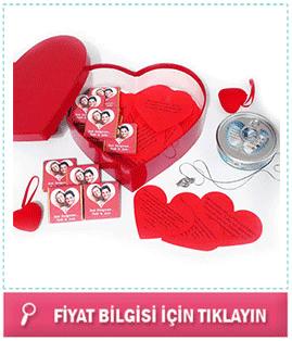 bayan sevgiliye romantik hediye sepeti