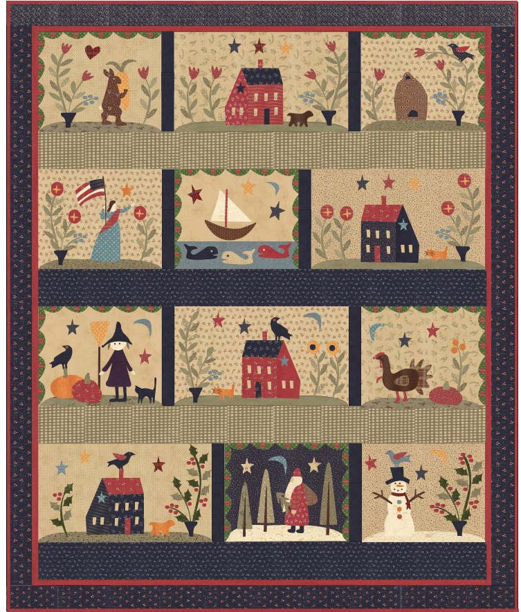 Over the Meadow -McCalls Quilt Along