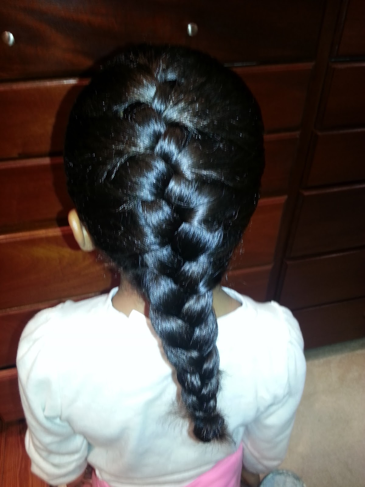 Back to the Future Naturally: How to French Braid #2 ...