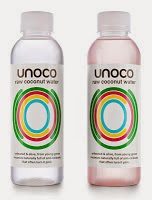Unoco Raw Coconut Water Identity & Packaging by: Pearlfisher