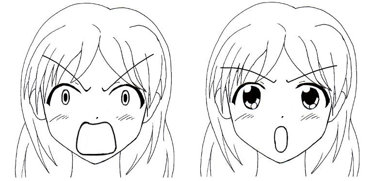Comment dessiner des manga - Dessiner un manga fille ...