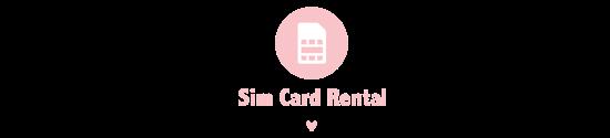 ☆Rental SIM Card☆