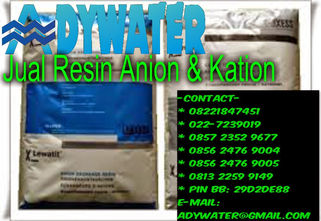 Jual Resin Kation Anion