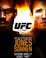 Jones Sonnen fight video UFC 159