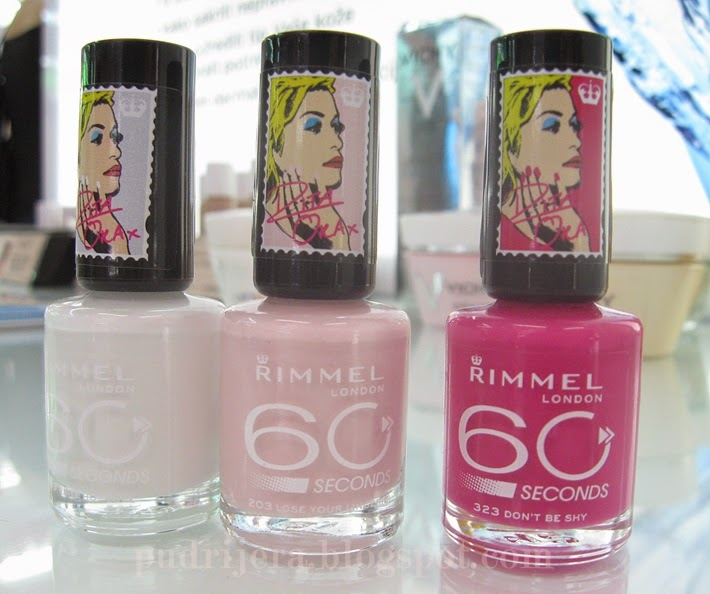 Rimmel 60 seconds Rita Ora