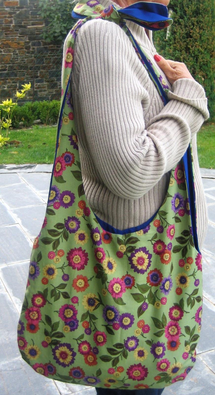 Bolsos de tela floreados - Telas para hacer bolsos ...