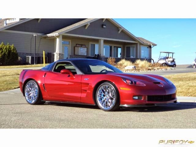 2011 Corvette ZR1 at Purifoy Chevrolet