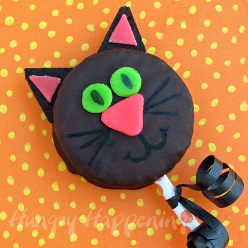 Black Cat Snack Cakes - Hungry Happenings Halloween