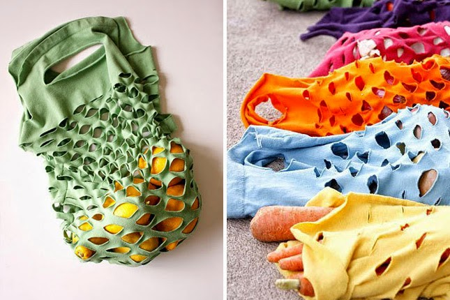 10 Ideas para Reutilizar Camisetas, III Parte