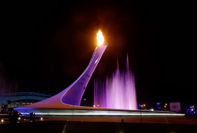 Olympic stadium in Sochi, Russia