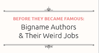 Jobs of Bigname Authors Before They Became Famous