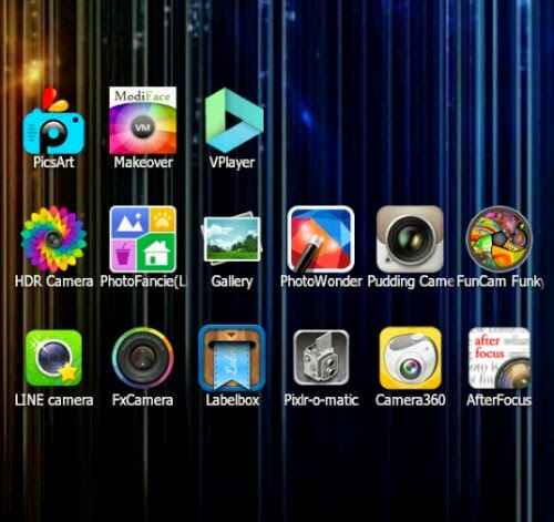 Kumpulan Aplikasi Edit Foto Terbaik HP Android Terbaru 2014