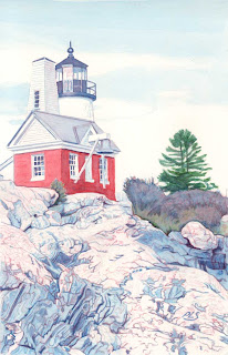Pemaquid Point Light VI