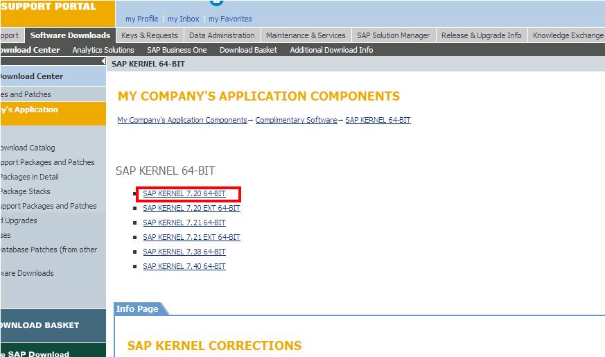 sap download application server file