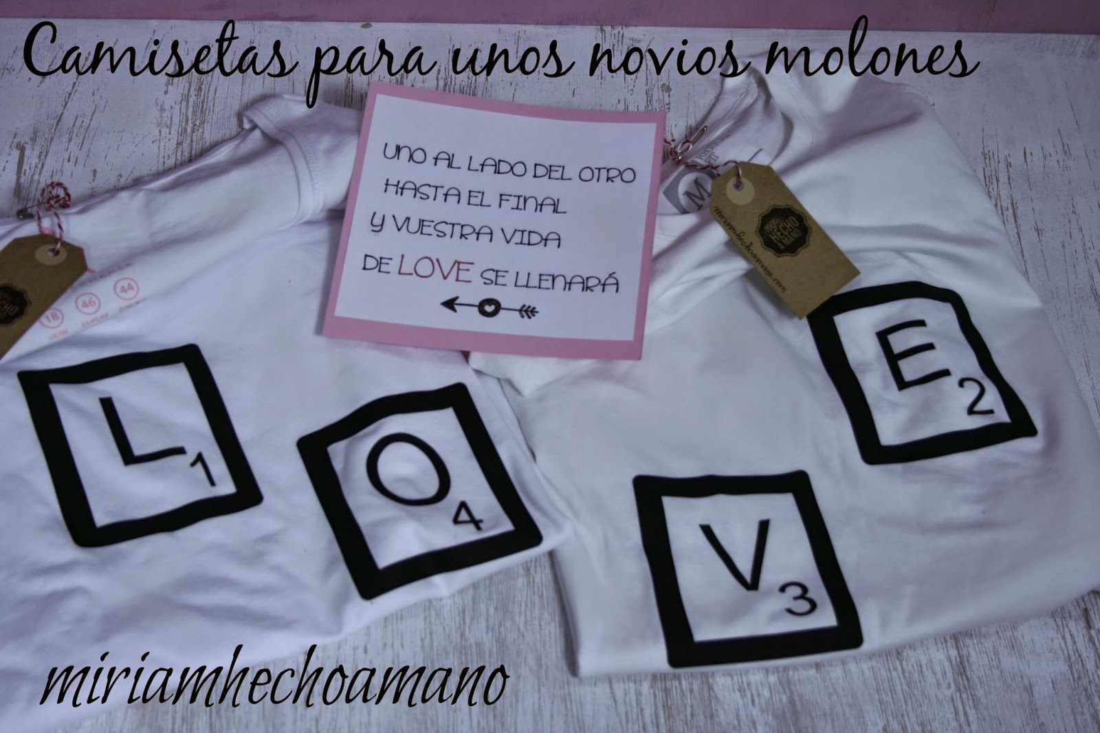 camiseta original parejas