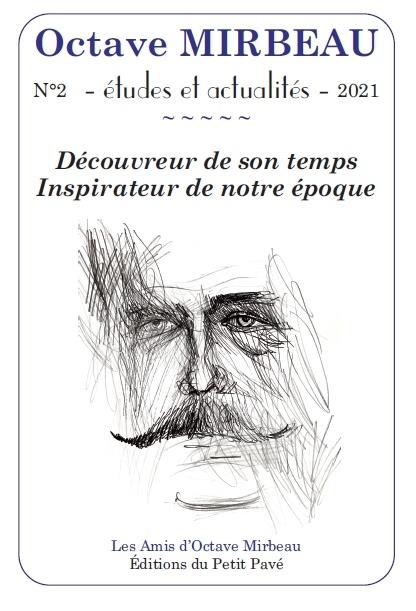 Deuxième numéro de la revue des Amis d'Octave Mirbeau, mars 2021