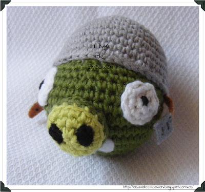 Cerdo Angry Birds Amigurumi : El Ba?l de Elveawen: Tercer cerdo