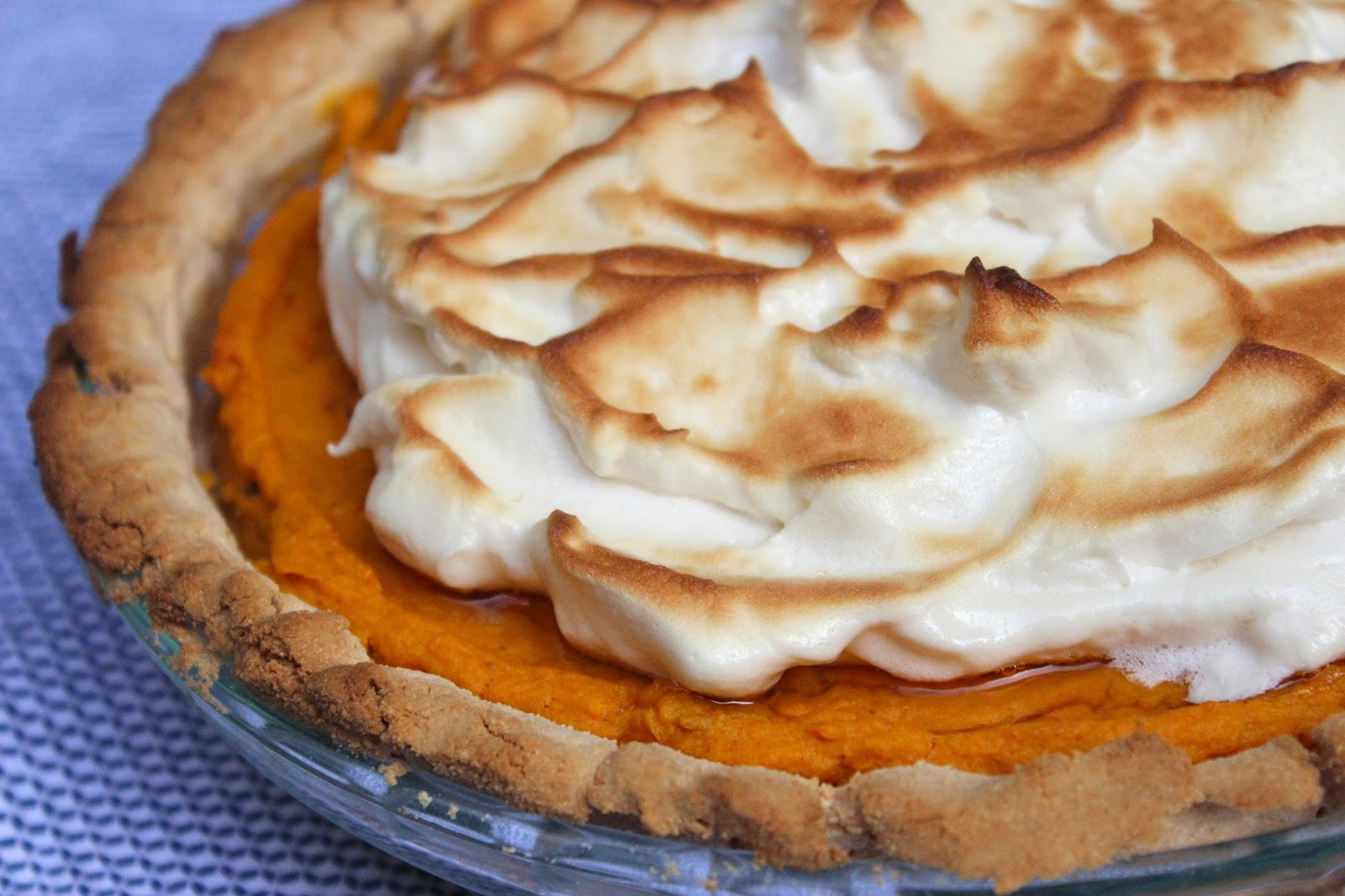 all just a really long way of saying, this sweet potato meringue pie ...