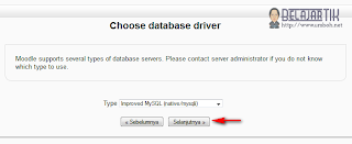 Pemilihan database
