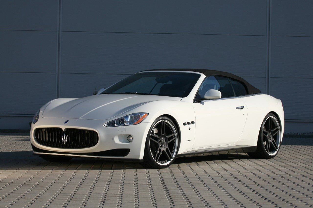 Maserati Grancabrio Sophisticated Italian Sports Car