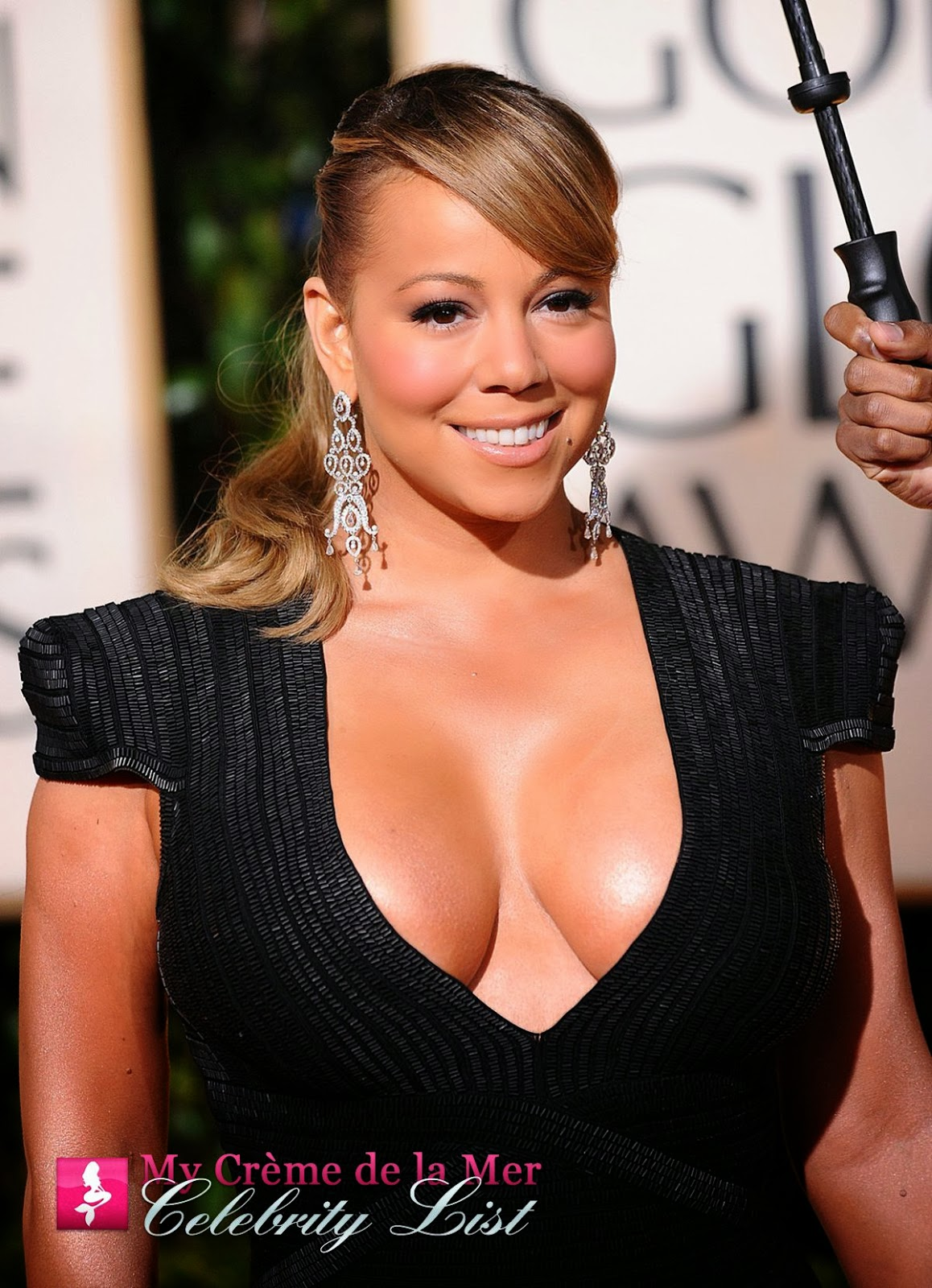 Songbird, producer and actress Mariah Carey is on the My Crème de la Mer Celebrity List, for using La Mer.