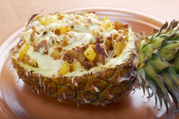 Блюда с ананасами рецепты с фото
