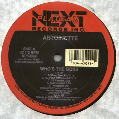 Antoinette ‎– Who's The Boss / Hit Me With Your Best Shot (VLS) (1989) (256 kbps)