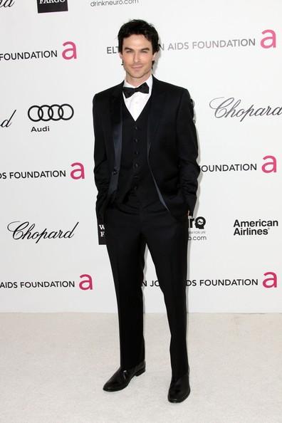 Look Ian somehalder Oscar 2012