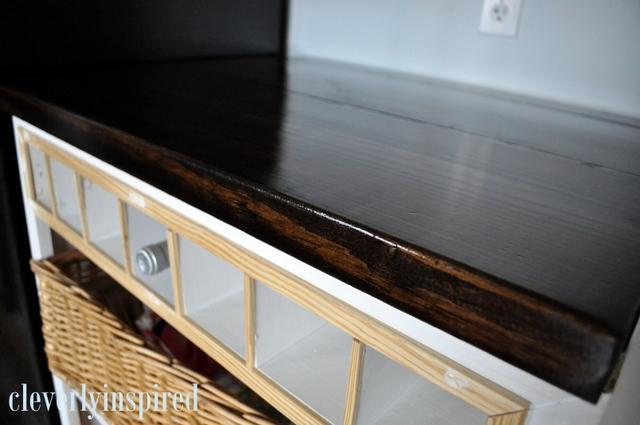Diy wood countertop for Diy wood bar tops