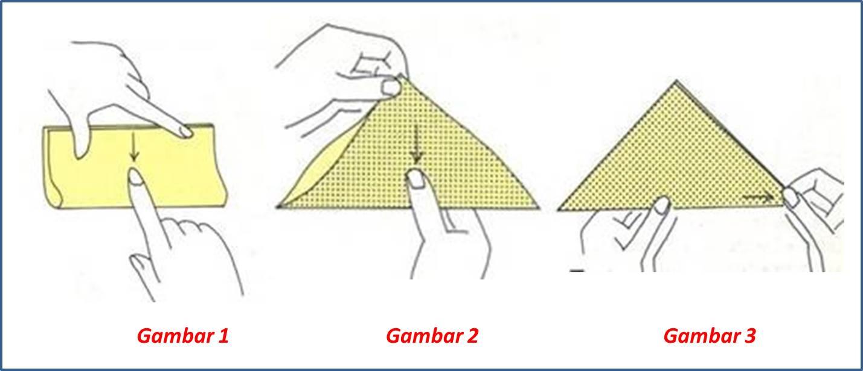 membuat origami kepala gajah klub langkah langkah membuat origami