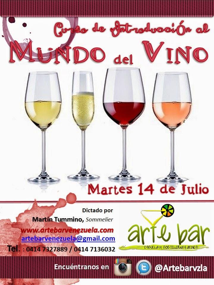 """Curso """"Mundo del Vino"""" (Abierta la Inscripción)"""