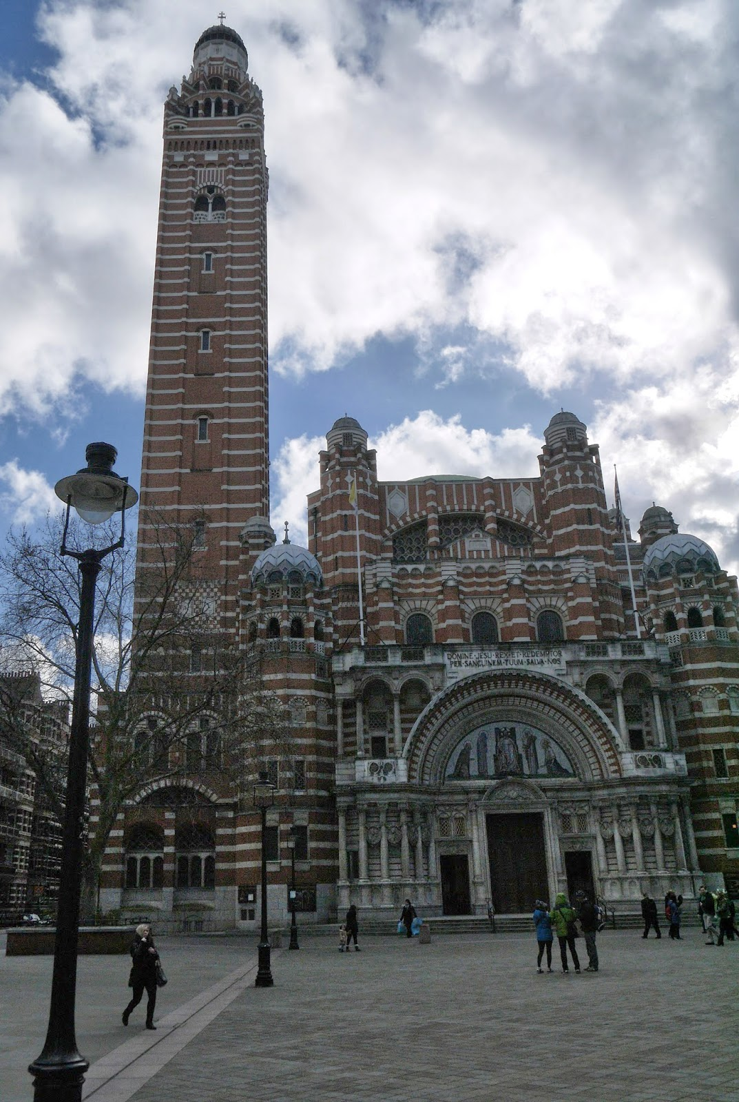 Thankful that I was able to visit Westminster Cathedral on my Birthday