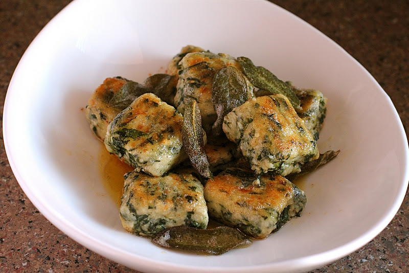 brown butter goat cheese and sage basic sage and brown butter sauce ...