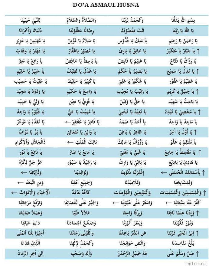 Doa Asmaul Husna Majelis Ar Raudhah Solo - Al Habib Novel Bin Muhammad ...